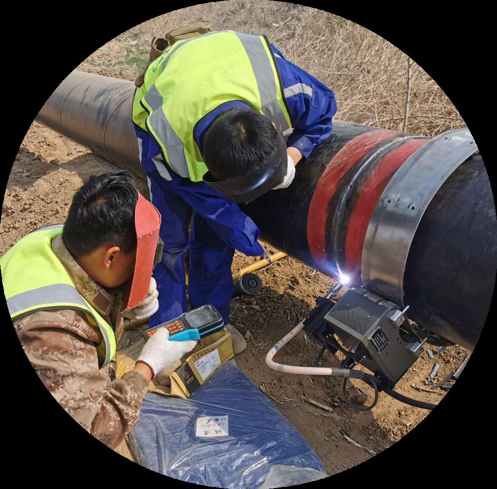 automatic pipeline welding